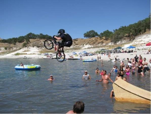 Camp Bike Jump