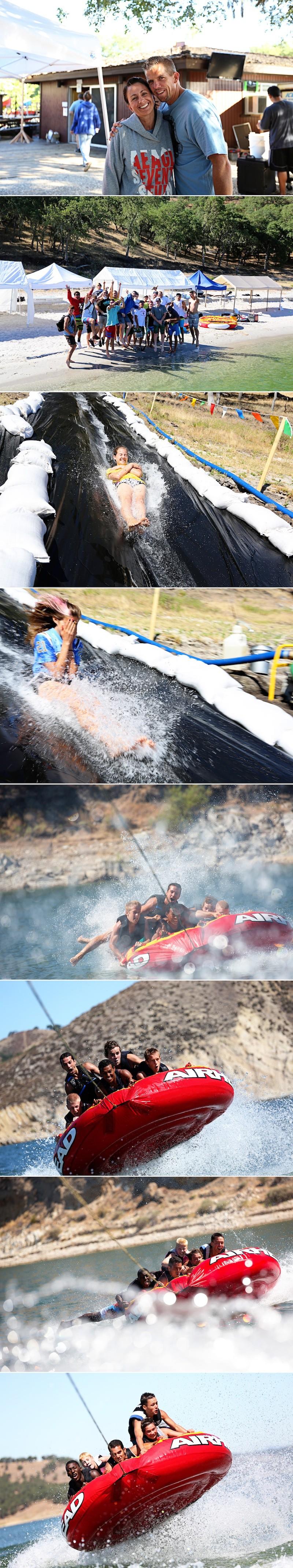 Summer Camp 2012 - super slide