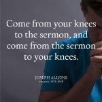 Joseph Alleine quote on prayer