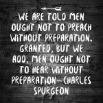 On Sermon Hearing, by Spurgeon