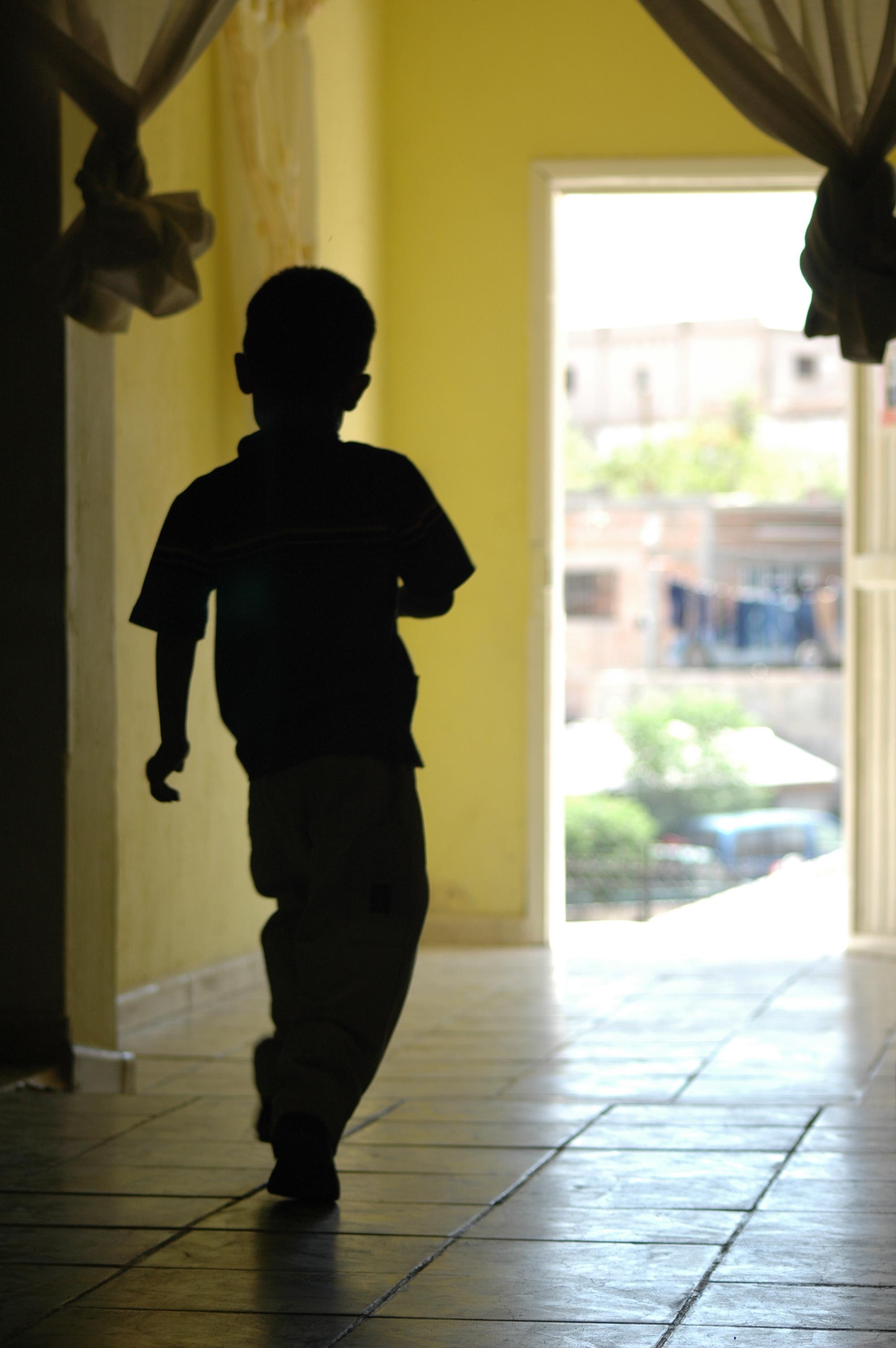 Running to the Door
